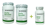 10 Day Detox Daily Benefit Set By Dr. Morrison
