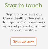 Sign up for Crave Health Newsletter