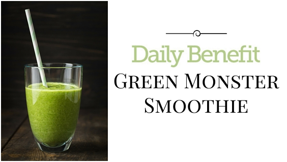 "Call in the ""Green Monster"" to Kick Start Your Day"