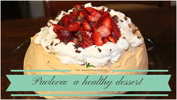 Pavlova with Coconut Cream and Fresh Fruit