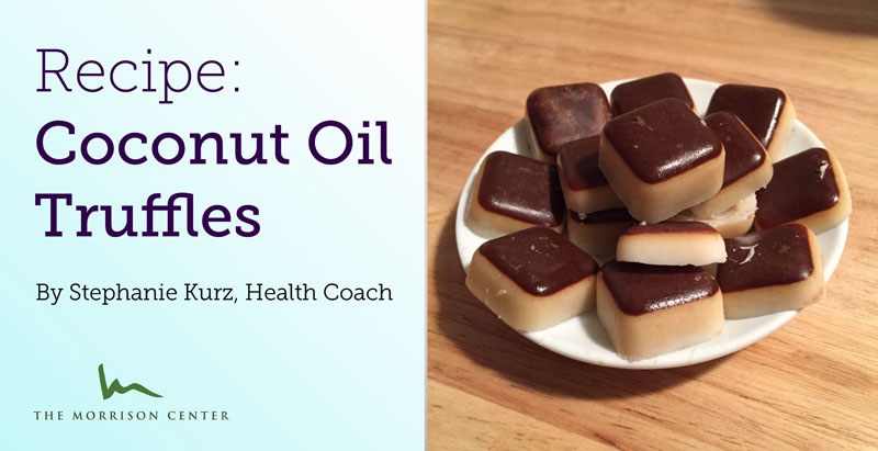 Healthy Coconut Oil Truffles