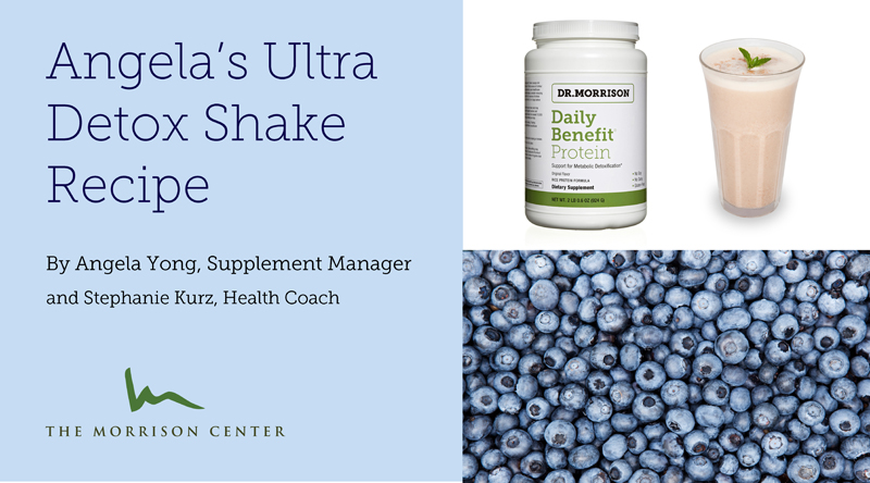 Angela's Ultra Detox Shake Recipe