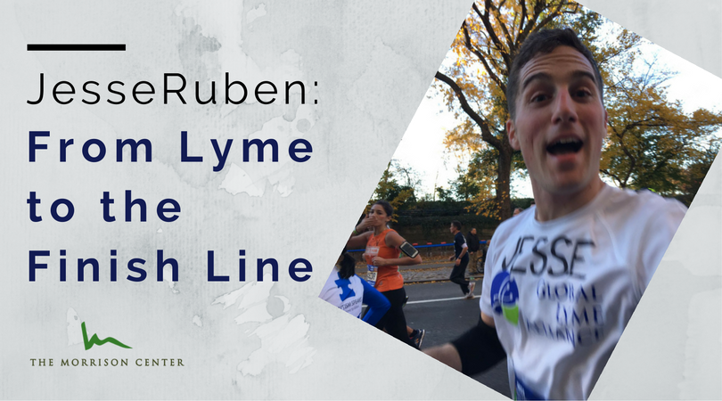 Jesse Ruben: From Lyme to the Finish Line