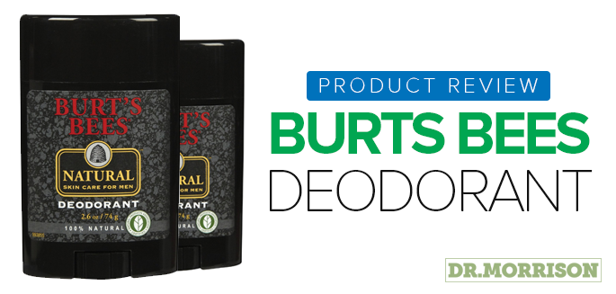 Product Review: Burts Bees Deodorant