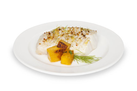 Broiled Cod Fish