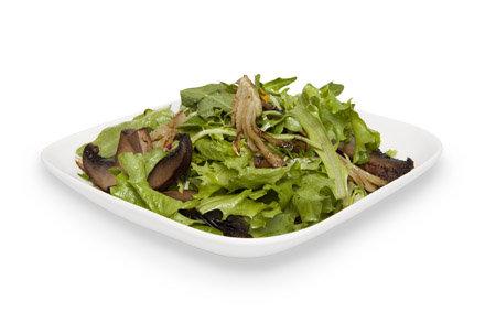 Sauteed Portobello Mushroom Salad