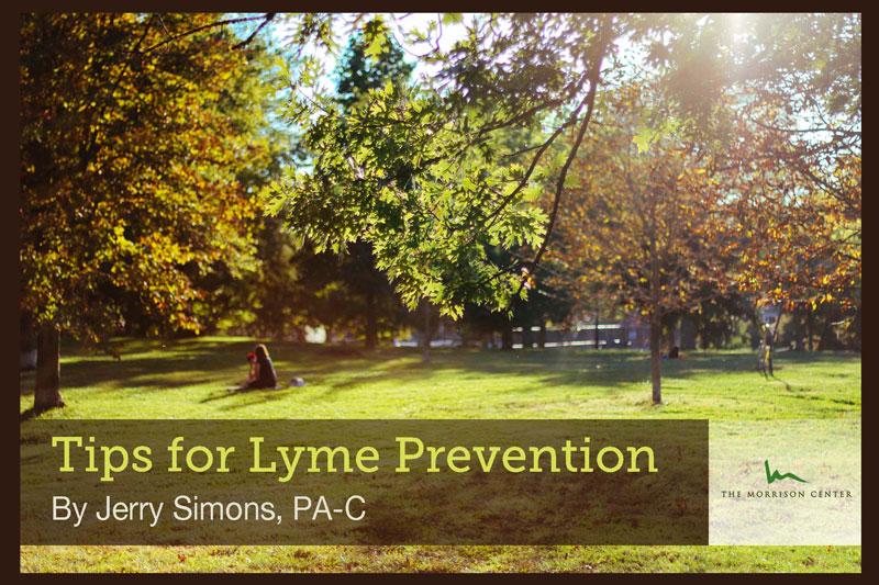 Tips for Lyme Prevention