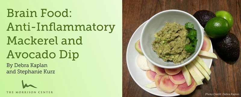 Brain Food: Anti-Inflammatory Mackerel and Avocado Dip