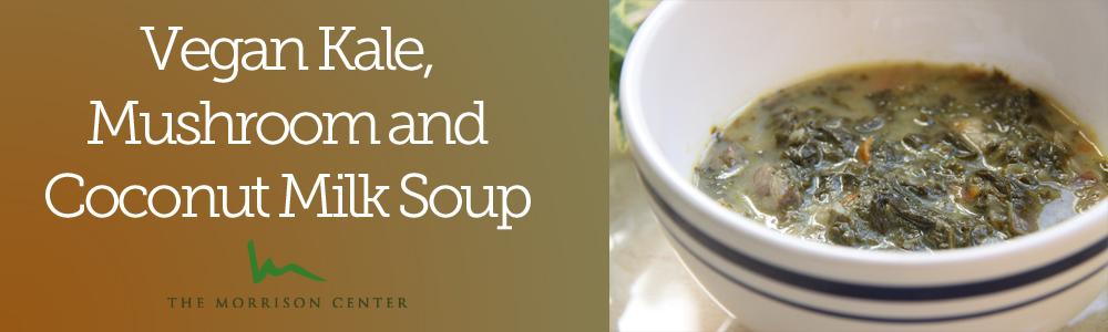 Vegan Kale and Coconut Milk Soup
