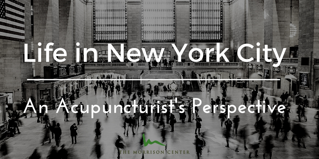 Life in New York City: An Acupuncturist's Perspective
