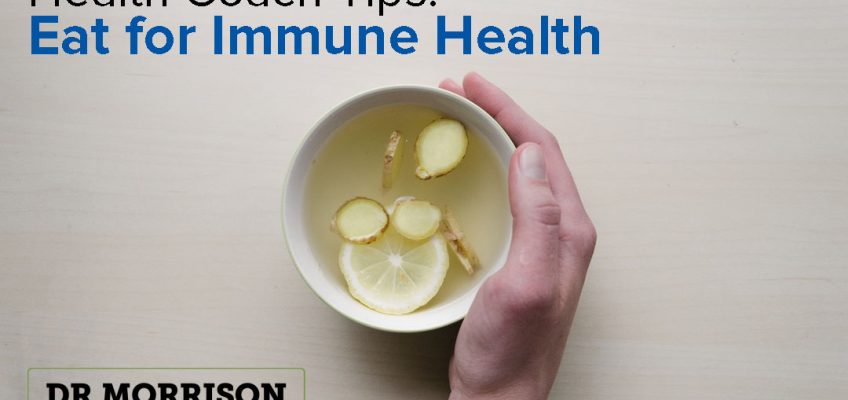Health Coach Tips: Eat for Immune Health